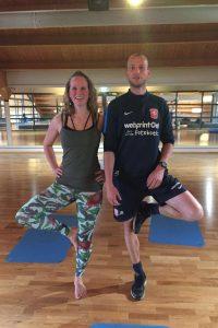 Yoga in combinatie met topsport