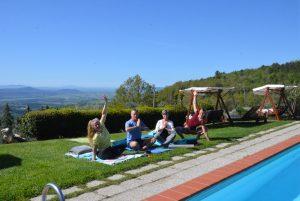 Yoga reis Toscane