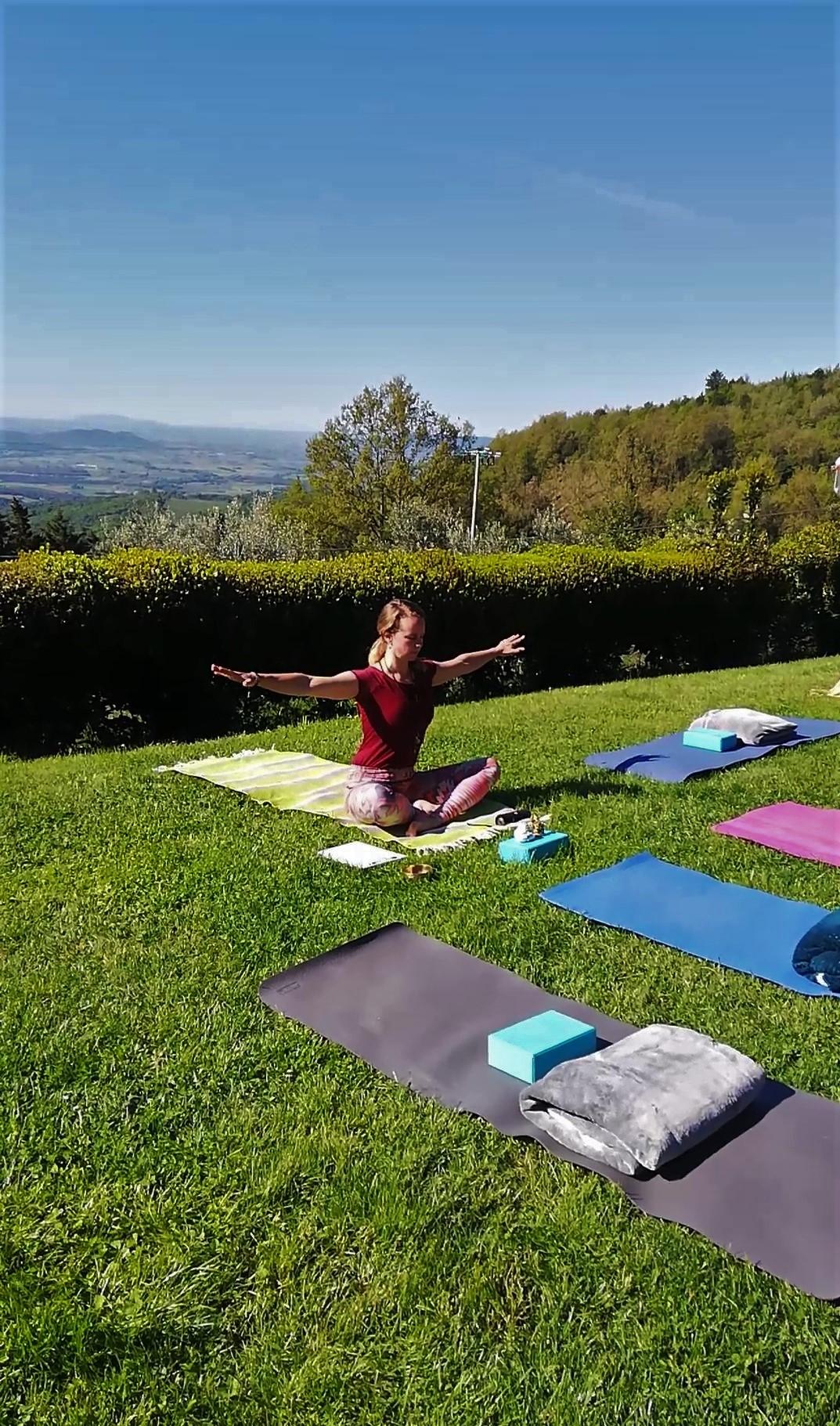Yoga en stress verminderen